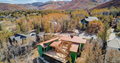 park city home for sale view drone